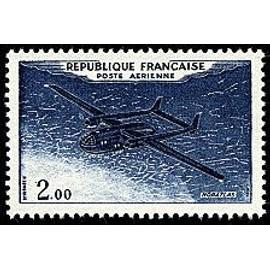 Timbre - 2.00 poste Aérienne Noratlas