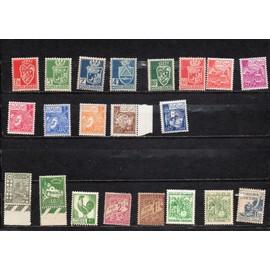Divers pays (Algérie, Maroc, Tunisie)- Lot de 21 timbres neufs petits formats divers