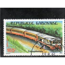 Timbre-poste du Gabon (Paysage du Gabon)