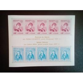timbre MONACO YT BF 10 Marin; par Florence - Sainte Dévote; par Bréa 1975 ( 5612 )