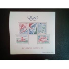 timbre MONACO YT BF 11 Jeux olympiques d