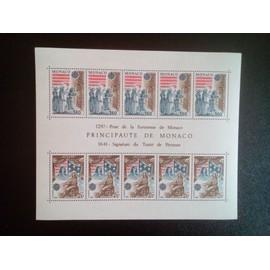 timbre MONACO YT BF 22 Europe: événements historiques 1982 ( 5612 )