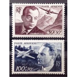 Série Aérienne 1947 - Dagnaux & Saint-Exupéry - N° 21-22 Neufs** Luxe (= Sans Trace de Charnière) - Cote 9,00€ - France Année 1947 - N25314