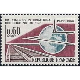 19e Congrés International des chemin de fer Paris 1966