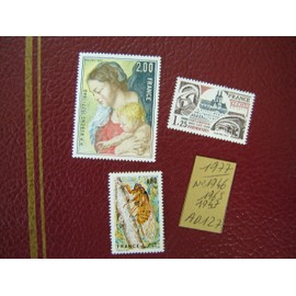 AD 127 / LOT TIMBRES NEUFS FRANCE 1977*N° 1946/1947/1965
