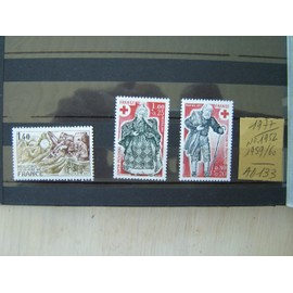 AD 133 / LOT TIMBRES NEUFS FRANCE 1977 / N°1952 /1959/1960