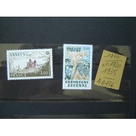 AD 136 / LOT TIMBRES NEUFS FRANCE 1977 / N°1920/1935