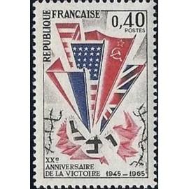 20e anniversaire de la victoire 1945-1965