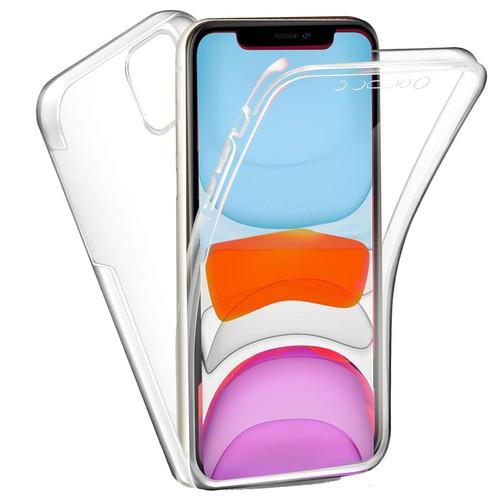Coque 360 degrés Apple iPhone 11 PRO MAX 6,5 pouces Protection intégrale souple TPU Transparente face et dos Smartphone - Accessoires Pochette ...