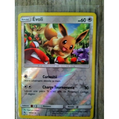 EVOLI HOLO-caché Destin-germano-Comme neuf Carte pokemon 48//68