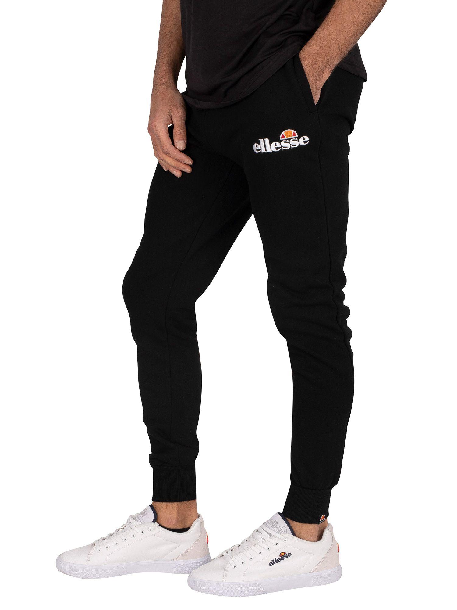 Ellesse Homme Nioro Survêtement Pantalon en Noir //// BNWT ////