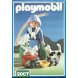 Playmobil N� 3007 Fermi�re Famille De Chats