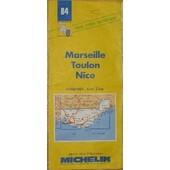 Marseille Toulon Nice - 1/200 000 de Collectif