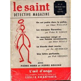 Le Saint D�tective Magazine N� 12