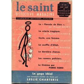 Le Saint D�tective Magazine N� 63