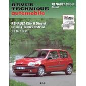 Renault Clio Ii - Diesel 1.9, Moteurs � Injection Indirecte de