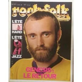 Collins Phil affichette promo 40x30