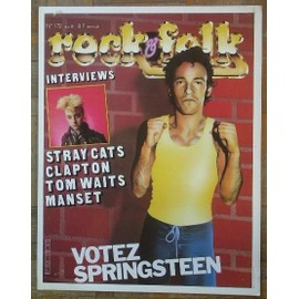 Springsteen / Stray Cats Affichette promo 40x30