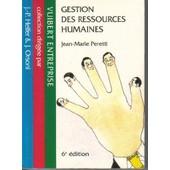 Gestion Des Ressources Humaines de Jean-Marie Peretti