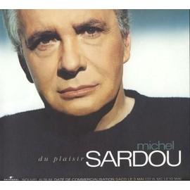 Sampler - Michel SARDOU - Du Plaisir - PLV en sortie de l'album + 1 CD 5 Titres Promo...