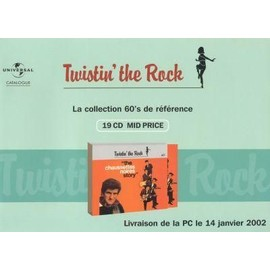 Sampler - COLLECTION TWISTIN4 The ROCK  Année 60'S - PLV Catalogue de mise en vente + 1 CD PROMO GRATUIT de 16 titres...
