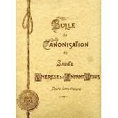 Bulle De Canonisation De Sainte Th�r�se De L'enfant J�sus de PIE XI, Pape