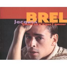 Jacques BREL : Quand On n'a que l'Amour - PLV de mise en vente + 1 CD Sampler GRATUIT de 6 titres...
