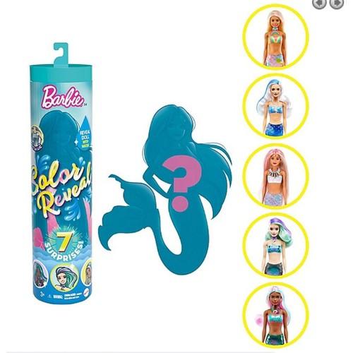 Barbie Color Reveal Sirène (Modèle Aléatoire)