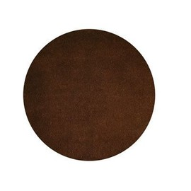 159293 tapis rond 70 cm laine coton couleur chocolat pas cher. Black Bedroom Furniture Sets. Home Design Ideas