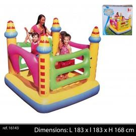 16143 aire de jeu d 39 exterieur chateau gonflable trampoline pour enfant. Black Bedroom Furniture Sets. Home Design Ideas