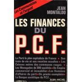 Les Finances Du Pcf de jean montaldo