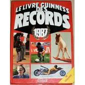 Le Livre Guinness Des Records 1987 de McWHIRTER, NORRIS
