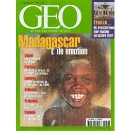 Geo 1999 (N�249) Madagascar - Manchots - Otaku - Panama - Millennium Dome - Ardennes - Nicole Viloteau - Art Brut - Parfums