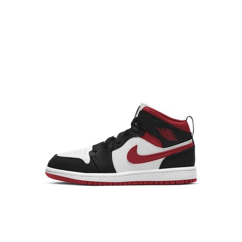 Chaussure Jordan 1 Mid pour Jeune enfant - Blanc | Rakuten