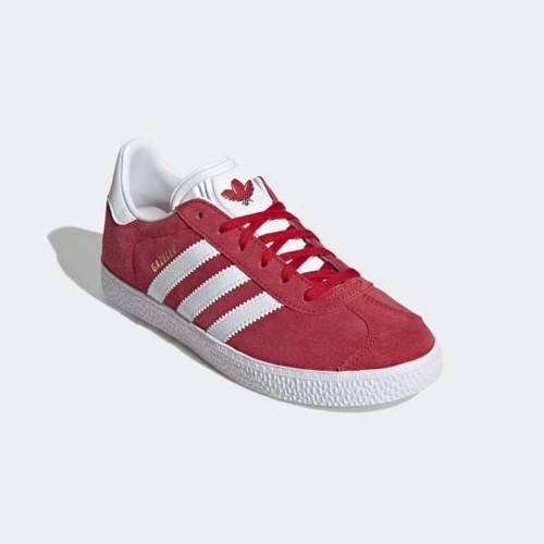 Baskets Adidas Gazelle J FX6116 Rouge - 37 1/3