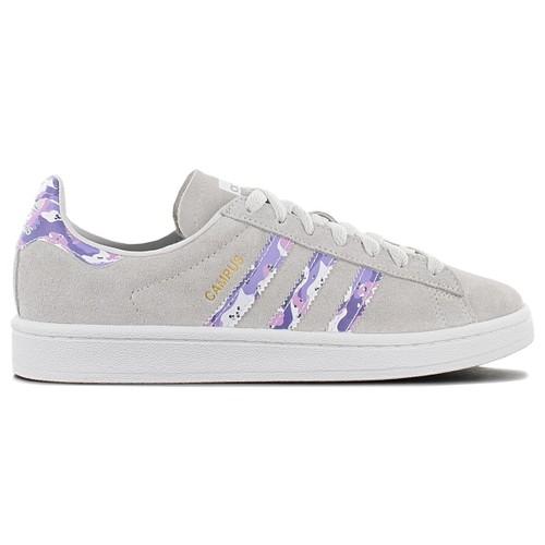 Adidas Originals Campus Femmes Baskets Sneakers Chaussures Gris-lila B38005