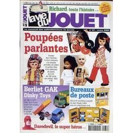 La Vie du Jouet N° 87 : Richard - Poupées parlantes - Berliet GAK Dinky Toys - Bureaux de poste