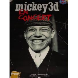 Mickey 3d - Affiche tournée 2003 - Format 70x100