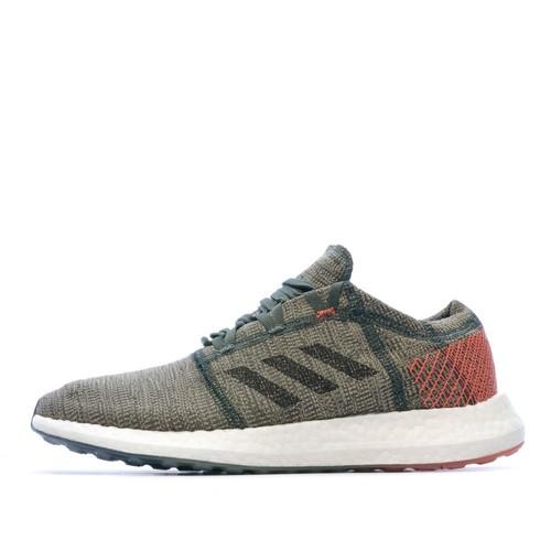 Chaussures de running vert homme Adidas Pureboost