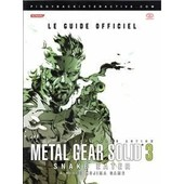 Guide Soluce Metal Gear Solid 3