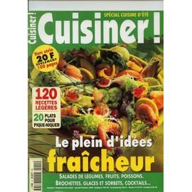 Cuisiner! Hors-S�rie N� 12, Le Plein D' Id�es Fra�cheur