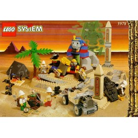 Lego Adventurers 5978 - Sphynx Secret Surprise (La Secret De La Pyramide Du Sphynx)