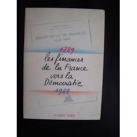 1789 Les Finances De La France Vers La D�mocratie 1989 + 1 F N� 1