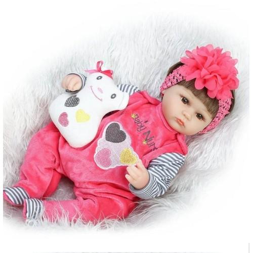 18 pouce doux silicone reborn poup es r aliste nouveau n - Vente privee pour bebe ...