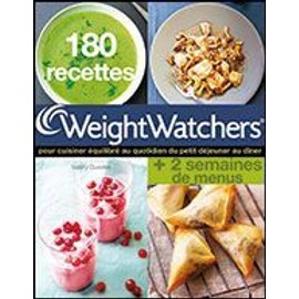 180 recettes weight watchers 2 semaines de menus de weight watchers. Black Bedroom Furniture Sets. Home Design Ideas