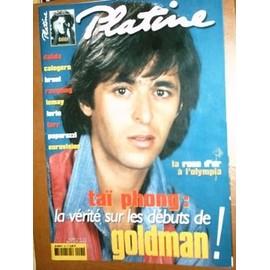 Platine N� 91 : La V�rit� Sur Les D�buts De Goldman.