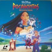 Pocahontas Une L�gende Indienne - Walt Disney - Laserdisc - V.F.