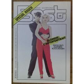 Blondie 2eme affichette promo pour kiosque 20cm x 30cm