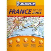 Atlas Routier Et Touristique France de Michelin