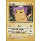 Pikachu (Set De Base, Vf, N�58/102)